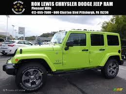 jeep green 2017 2017 hypergreen jeep wrangler unlimited sahara 4x4 116369825