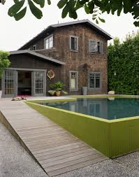 architect contemporary house facades architecture waplag design universal design how accessible homes incorporate ramps dwell modern pool house with seeded concrete walkway