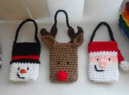christmas gift card holder and ornament set crochet pattern