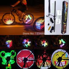 yq8003 bicycle light diy programmable led wheel light waterproof