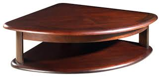 Stylish Corner Coffee Table Steve Silver Lidya Corner Wedge Lift Top