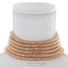 rope necklace choker images Gold rope choker necklace regentcouture jpg