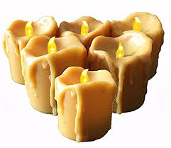 battery operated candles with timer 6 flameless