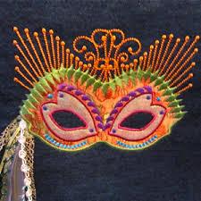 mardi grass mask mardi gras mask exclusive embroidery applique design