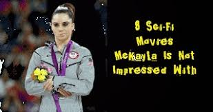 Mckayla Meme - 8 sci fi movies mckayla is not impressed with meme the geek twins