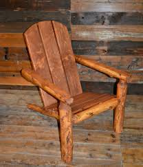 Log Outdoor Furniture by Cedar Log Outdoor Camp Chair Kit Rustic Furniture Mall By Timber
