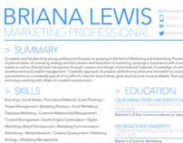 Marketing Resume Public Relations And Marketing Resume Download Pdf Version Of