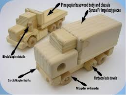 Homemade Wooden Toy Trucks by Wood Our Toys Are Made From