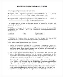 assignment agreement template assignment template word