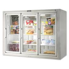 glass door merchandisers glass door merchandising freezers with 3 6 doors kitchenall new york