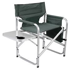 Lawn Chairs For Big And Tall by Amazon Com Faulkner Aluminum Director Chair With Folding Tray
