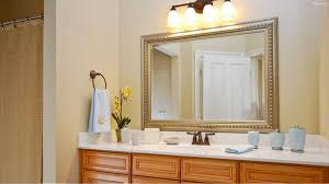 bathroom mirror ideas for single sink charming black wooden