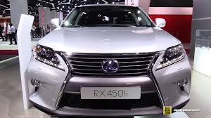 lexus 450h 2015 2015 lexus rx 450h exterior and interior walkaround 2014