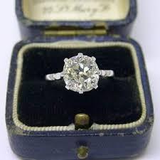 antique engagement rings uk solitaire 2 65ct diamond engagement ring