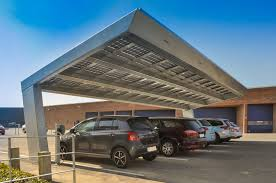 long span commercial solar parking find your carport with bluetop
