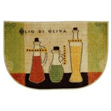 Kitchen Throw Rugs Mohawk Home Toscana Multi 18 In X 30 In Accent Slice Kitchen Rug