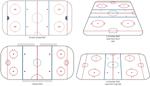 ice hockey solution conceptdraw com