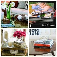 decorate coffee table with books how to