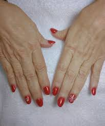 acrylic set with shellac gel by michael yelp