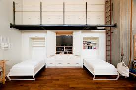twin platform bed with storage bedroom industrial with built in