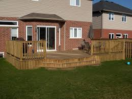 Backyard Deck Designs Pictures by Backyard Deck Ideas Ground Level U2014 Home Landscapings Backyard