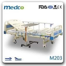 hospital bed tray table medical hospital bed tray table two functions manual used hospital