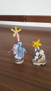 presepe di carta arrotolata 2 lavoretti feste pinterest
