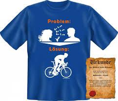 t shirt sprüche frauen witziges t shirt fahrrad die lösung bei quasselnden frauen