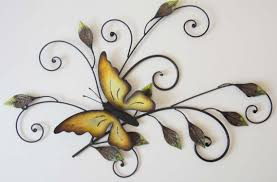 hanging butterflies image photo album metal butterfly wall decor