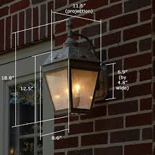 Exterior Patio Lights Two Exterior Wall Lights Provide Exterior Patio Lighting Brass