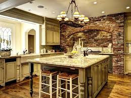 Mediterranean Tiles Kitchen - 47 brick kitchen design ideas tile backsplash u0026 accent walls