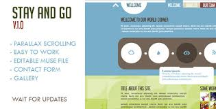 25 adobe muse landing page templates tutorial zone