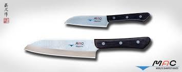 mac kitchen knives superior series santoku set 2 pcs sk 201 mac knife