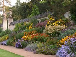 flower garden perennial flower garden design ideas hillside