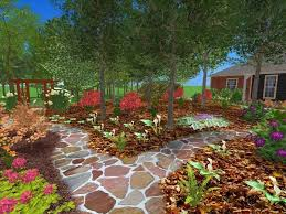 best landscape front yard without grass no grass landscaping ideas