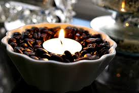 coffee bean candle coffee bean votives