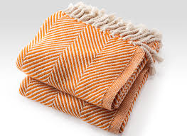 inspired blankets orange throws and blankets brahms