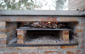 building a water wall brick bbq smoker grill plans backyard brick