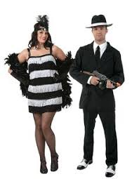 Halloween Gangster Costume Deadly Dames Gangsta Couples Costume Couple U0027s Costumes