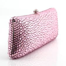 purse gift bags luxury evening clutch bag clutch purse pink diamond