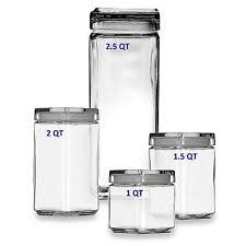 square kitchen canisters glass kitchen canisters ebay