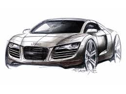 supercar drawing audi r8 design sketch 1 supercar sketches