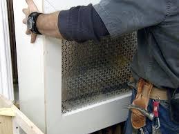 how to build a radiator cover how tos diy