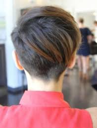 back view of short pixie haircuts hairstyles ideas