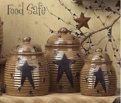 primitive kitchen canisters 10 kitchen all stars primitive home decors