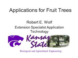 insect field days sponsored by the kansas fruit growers