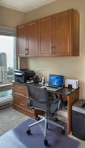 Desk Converts To Bed High Rise Condo With Wall Bed And Murphy Desk