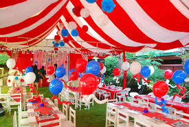 carnival decorations decorations wonderful carnival kids party decor design ideas