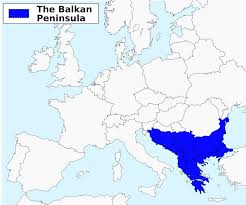 Blank Map Of Eastern Mediterranean by History Of The Balkans Wikipedia