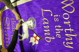 lenten church banners for praise and worship